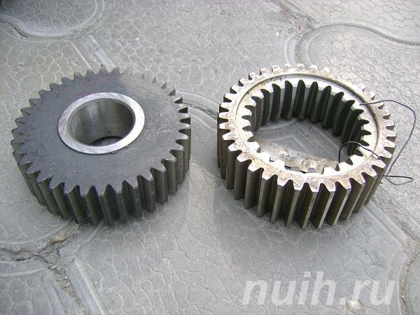 Производство зубчатых колёс и шестерён.,