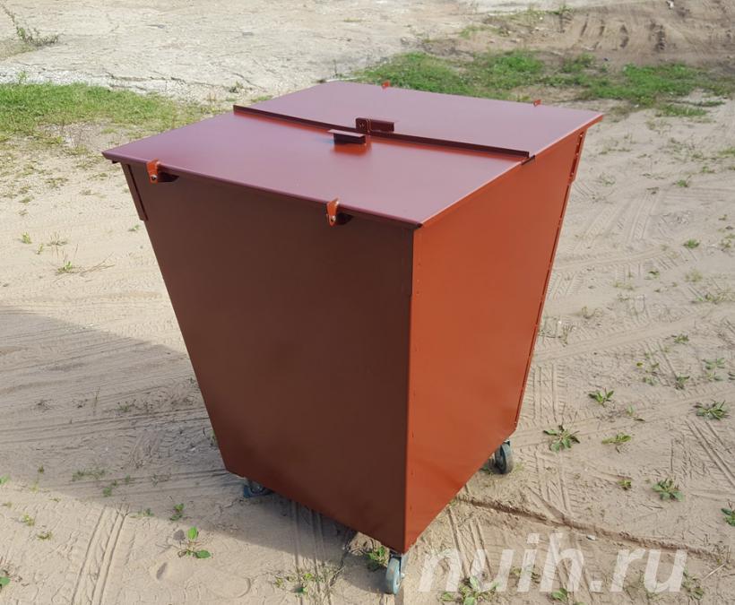 Производство мусорных баков недорого,