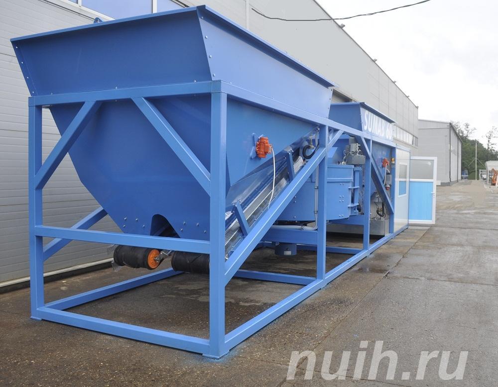 Мобильный бетонный завод Sumab K-60,