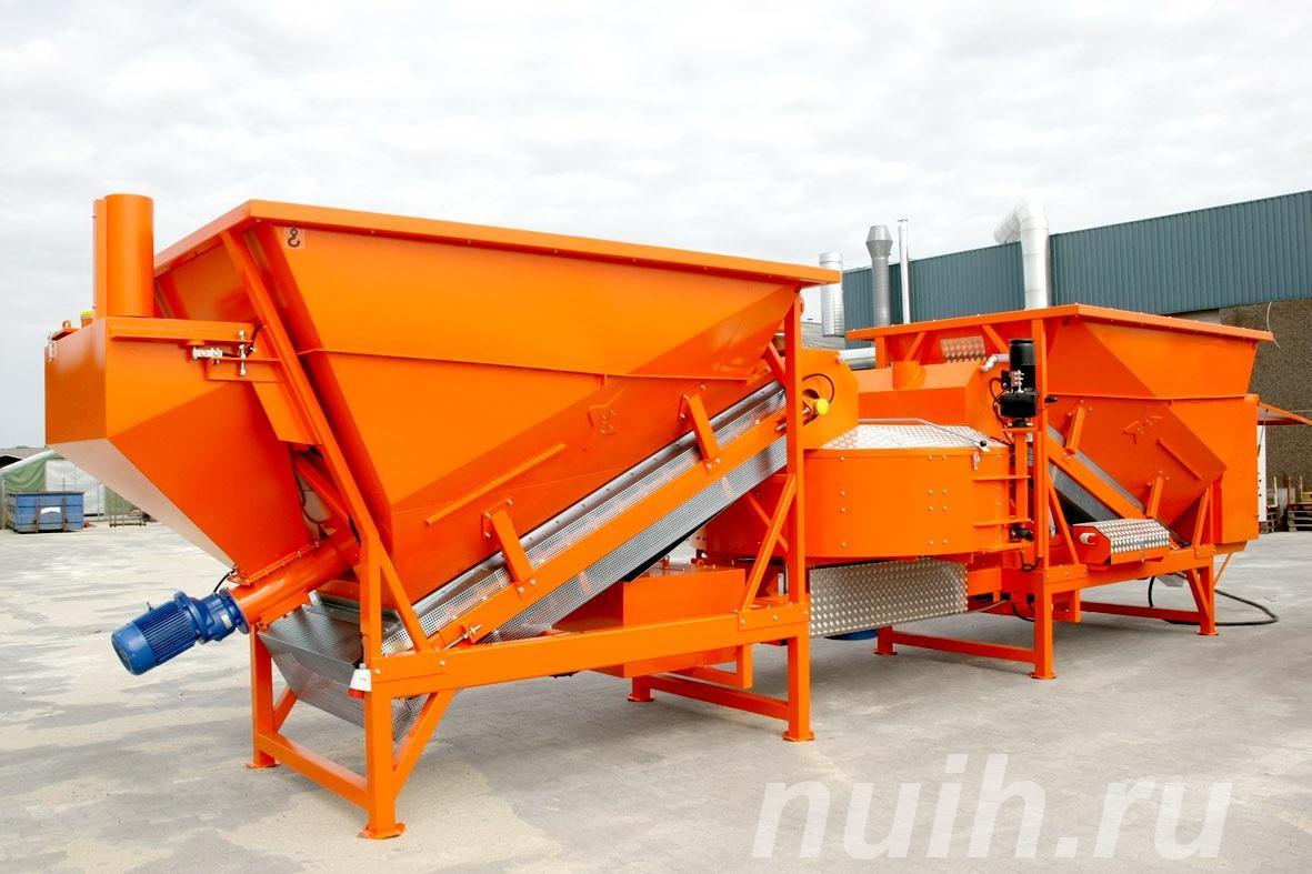 Мобильный бетонозавод SUMAB F-1800, Шагонар