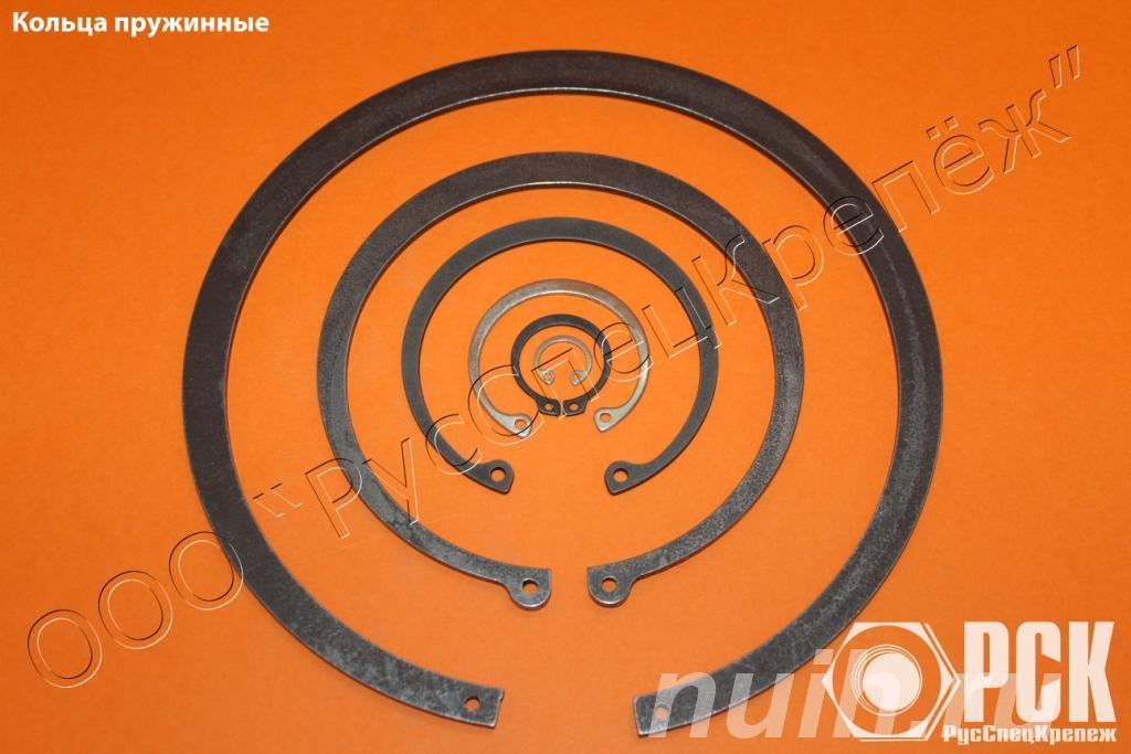 Кольца пружинные по ГОСТ из стали 65Г, 60С2А, ...,