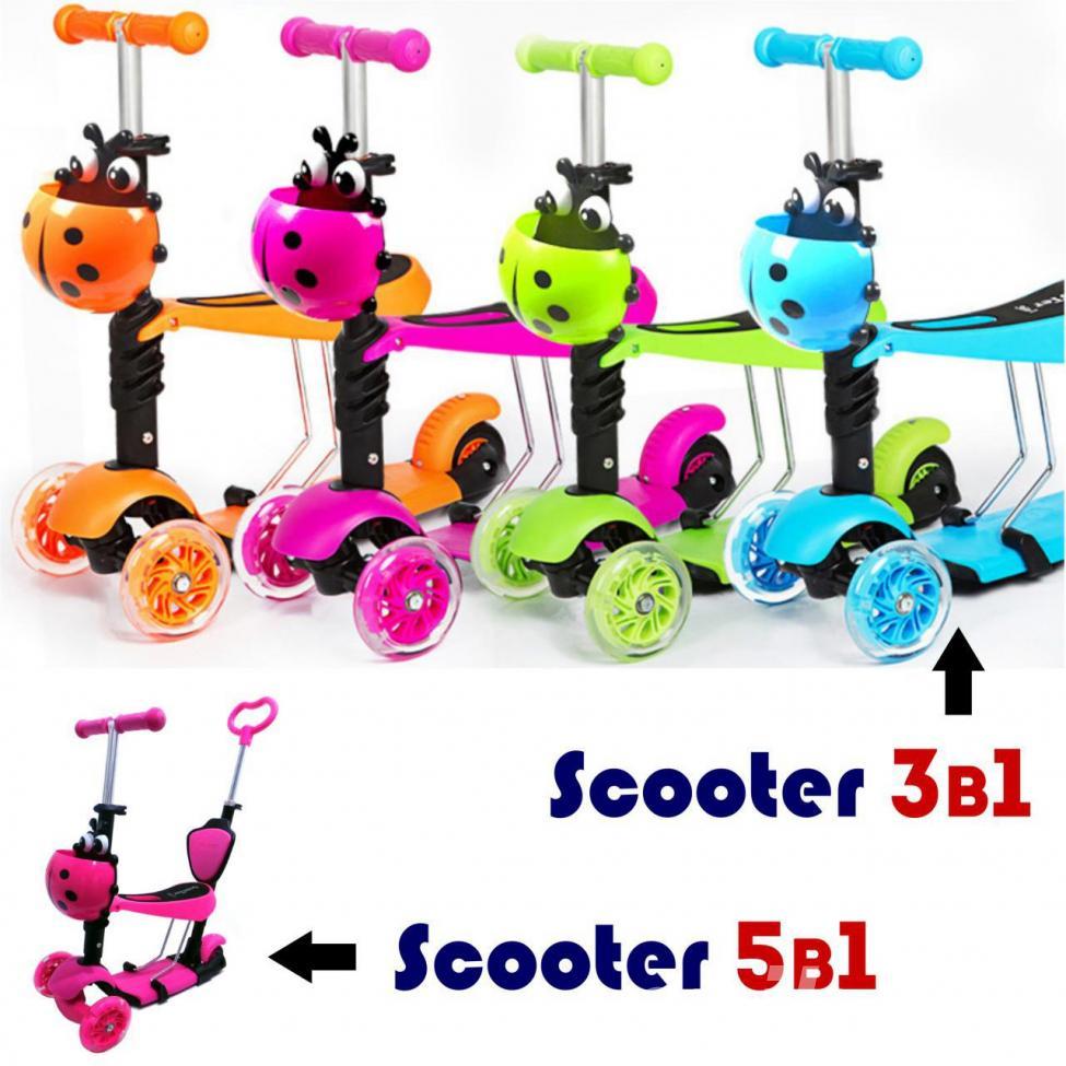 Детский самокат Scooter Maxi и подарок, МОСКВА