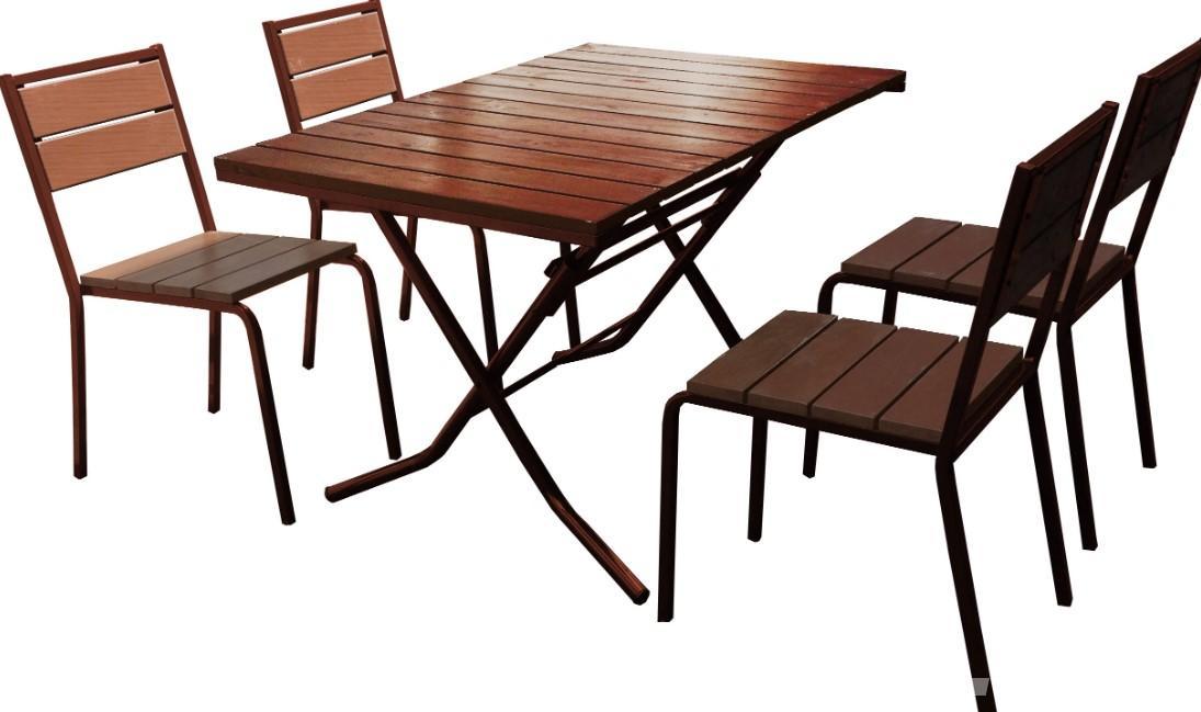 Комплект стол 4 стула для летнего кафе,  Краснодар