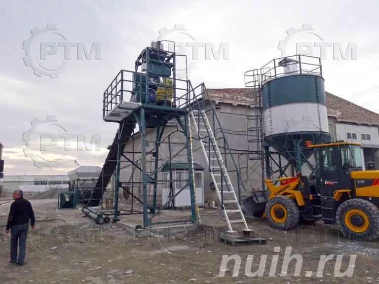 Ленточный бетонный завод RTM,  Новосибирск