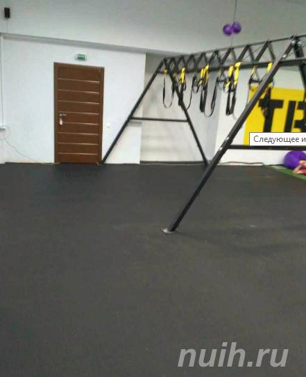 Спортивные резиновые покрытия для фитнеса и спорта, МОСКВА