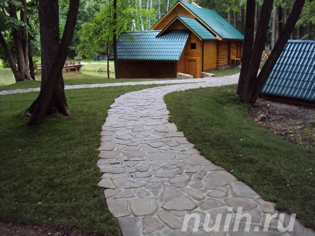Мощение садовых дорожек,  Тамбов