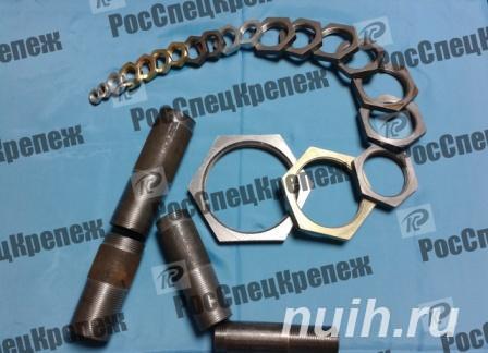Контргайка ГОСТ 8968-75 стальная,