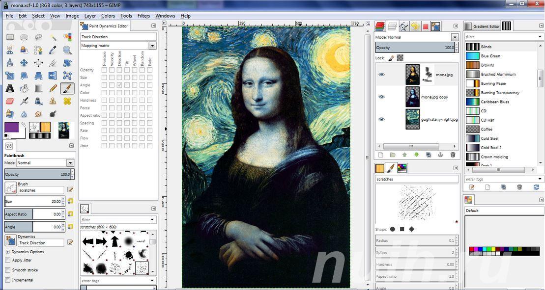 Курс Графический редактор GIMP в Центре Союз,  Тула