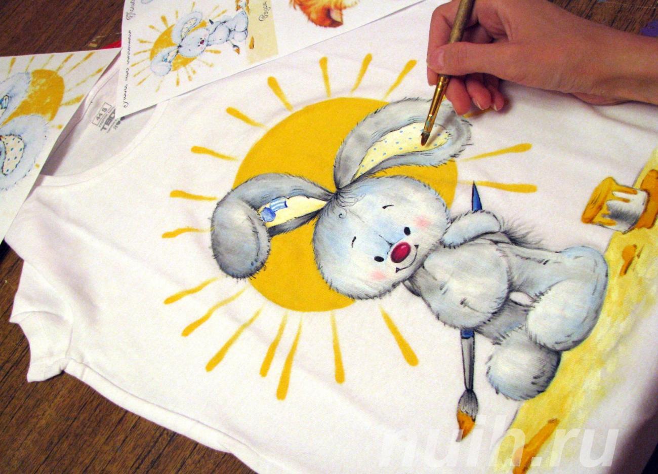 Мастер-класс по росписи футболок в Центре Союз,  Тула