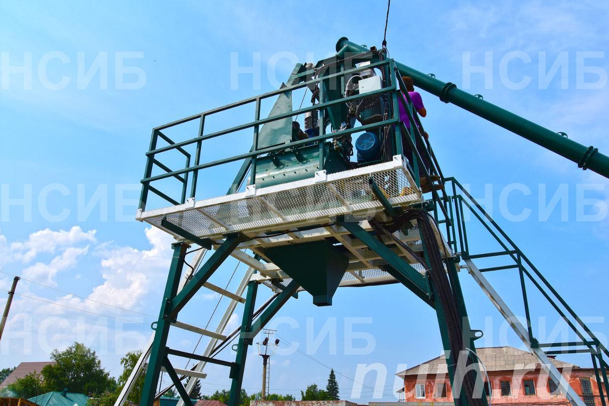 Оборудование для бетонных заводов РБУ . Бетонные заводы. ...,  Новосибирск
